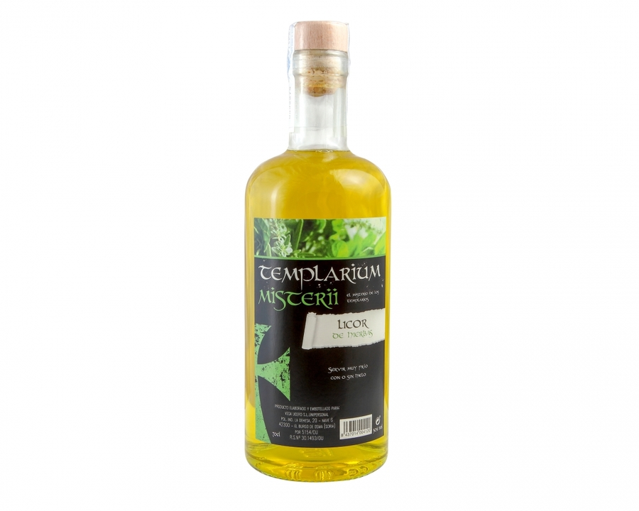 Licor de hierbas artesano 700ml
